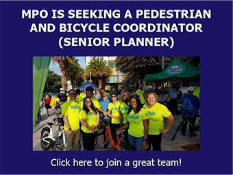 Job Opportunity Announcement - Senior Planner - Bike/Ped Coordinator