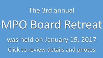 MPO Board Retreat held Jan. 19, 2017
