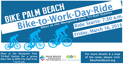 Bike-to-Work Day March 16, 2018