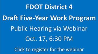 FDOT Draft 5-Yr. Work Program