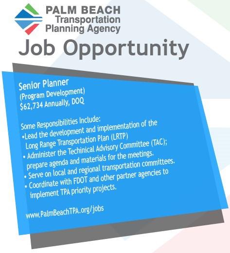 Senior Planner Job Opportunity