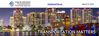 Transportation Matters E-News March 13, 2018