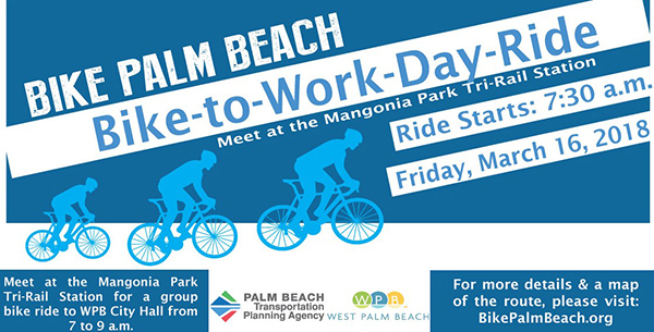 Bike -to-Work Day March 16, 2018