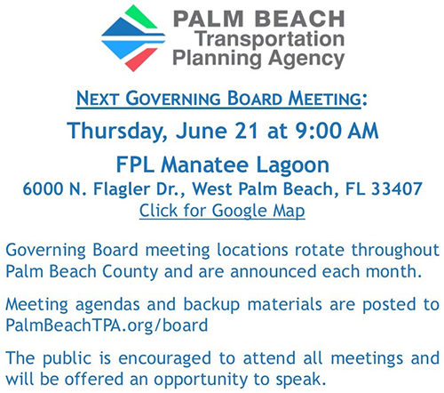 TPA Governing Board Meeting - June 21, 2018