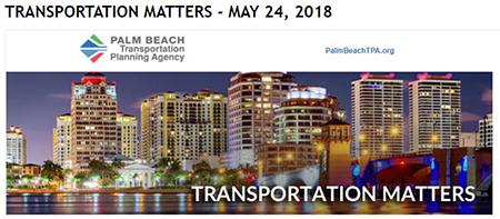 Transportation Matters E-News - May 24, 2018