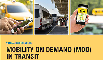 Mobility on Demand in Transit