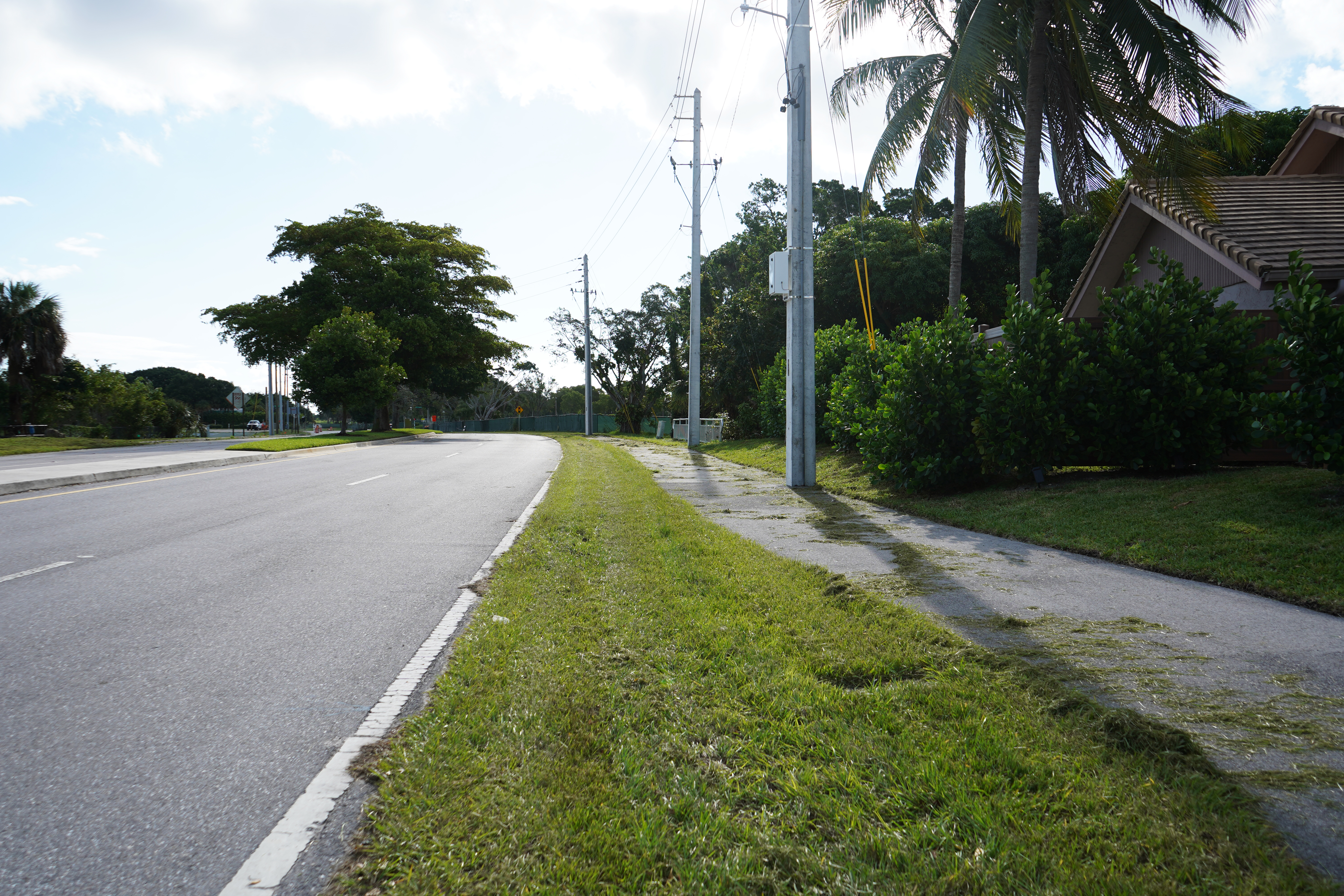 BEFORE: Clint Moore Rd. Shared Use Path