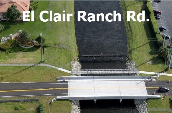 El Clair Ranch Rd Bridge After