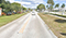 BEFORE: George Bush Blvd. Multimodal Improvements