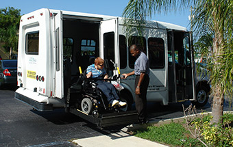 Palm Tran Connection service for the Transportation Disadvantaged