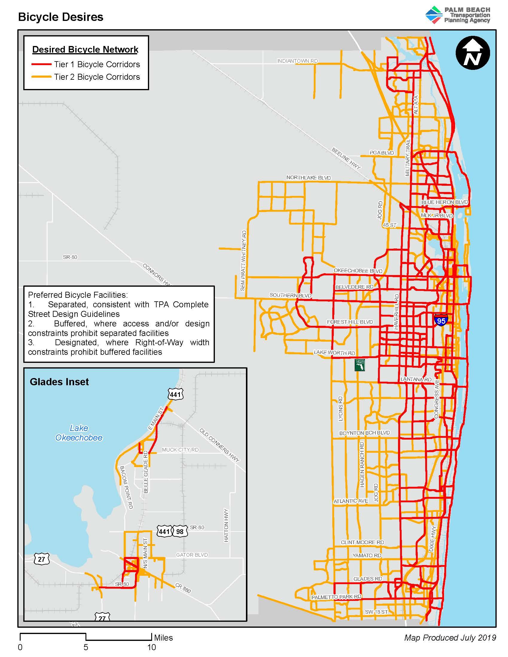 palm beach county municipalities map