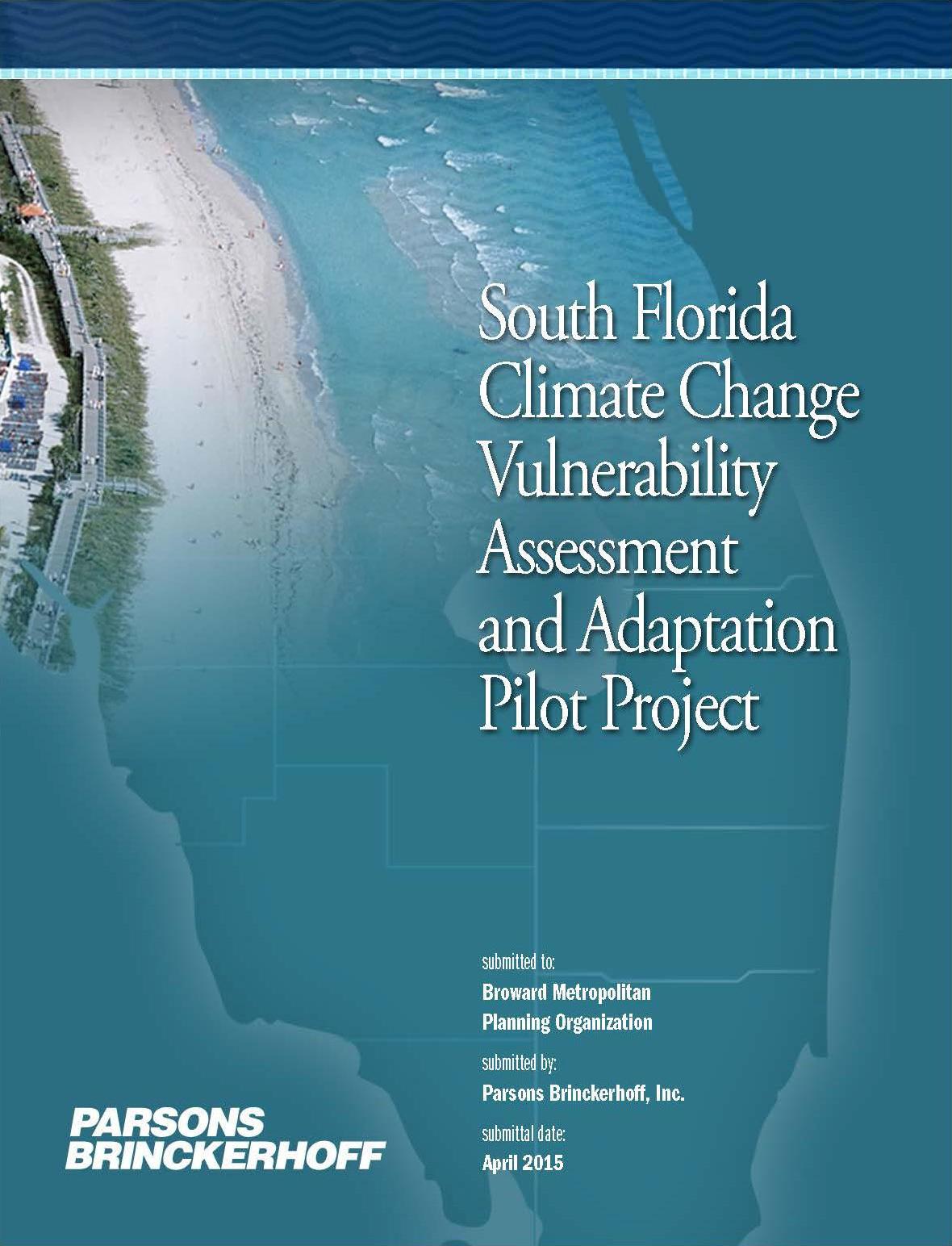 Climate Change Florida Map.Climate Change Transportation Planning Palm Beach Tpa
