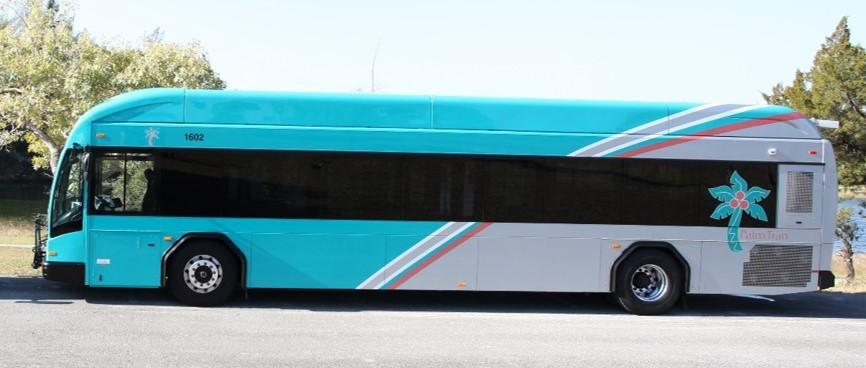 Palm Tran 2016 Bus