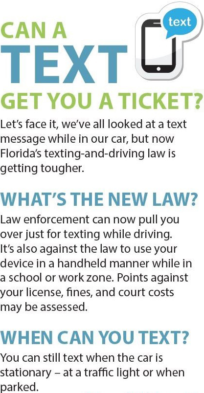 New Texting Law