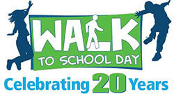 Walk to School Day - Celebrating 20 Years