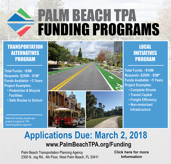 Palm Beach Funding Programs Flyer