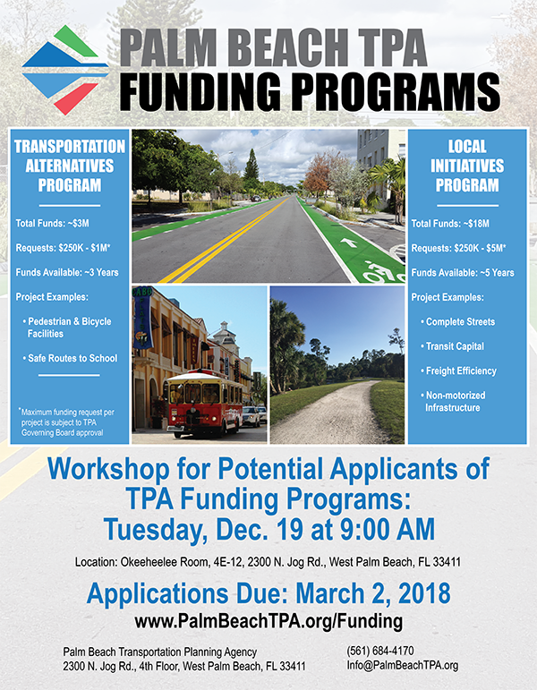 TPA Funding Programs Flyer