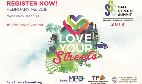 Safe Streets Summit 2018 Flyer