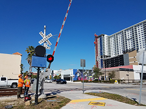 Brightline Supplemental Safety Measures Installation - March 2018