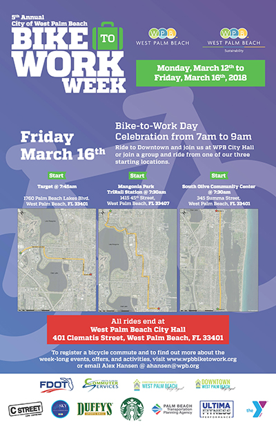 WPB Bike-to-Work Week