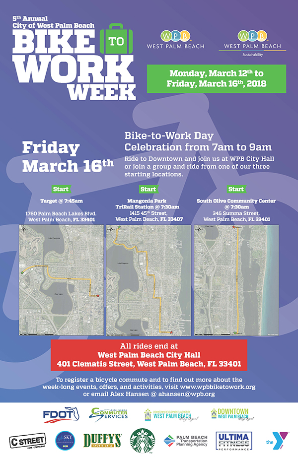 West Palm Beach Bike-to-Work Week