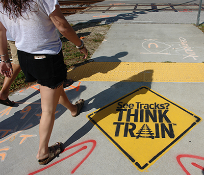 See Tracks, Think Train!