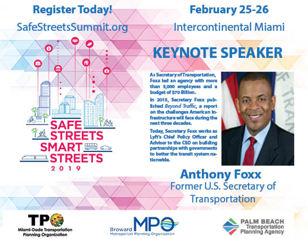 Safe Streets Summit - Keynote Speaker Anthony Foxx