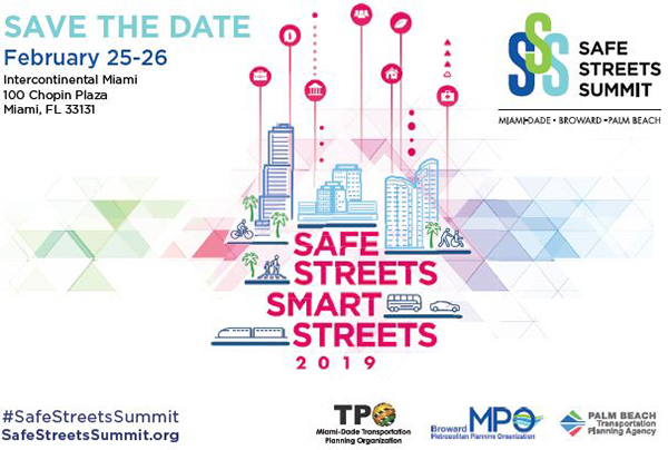 Save the Date! Safe Streets Summit - Feb. 25-26, 2019