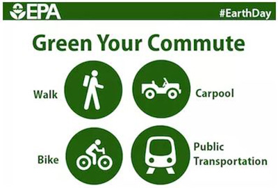 EPA Earth Day- Green Your Commute