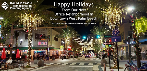 Happy Holidays from the new TPA office neighborhood location