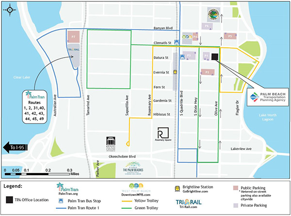 TPA Office Location with Transportation and Parking Options