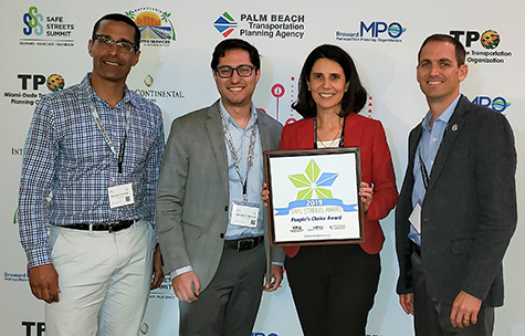 Palm Beach Award Winners - #SafeStreetsSummit 2019