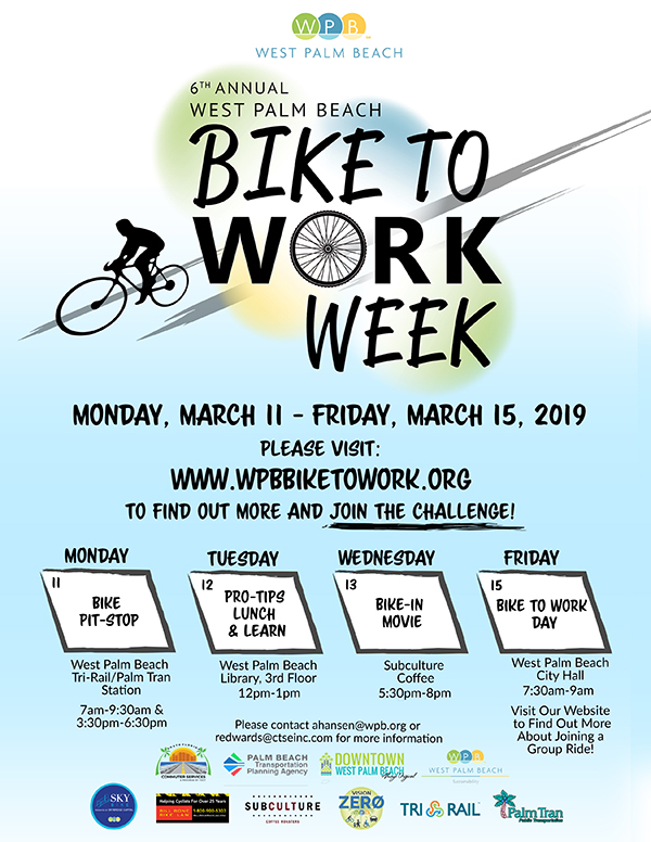 Bike to Work Week - City of West Palm Beach