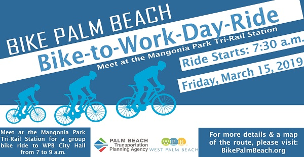 Bike-to-Work Day Ride - March 15, 2019