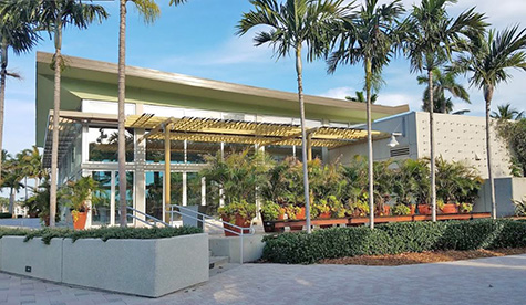 West Palm Beach Lake Pavilion, 101 S. Flagler Dr.
