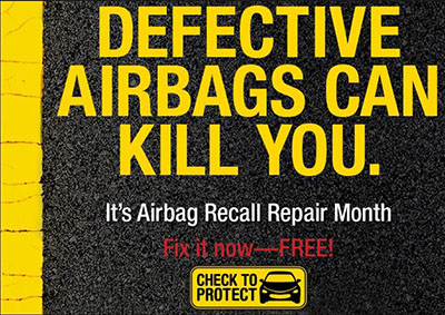 Defective Airbags Can Kill You