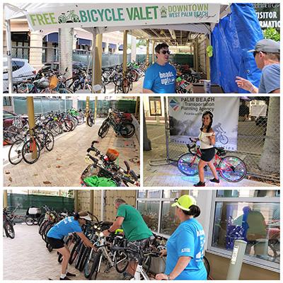 SunFest Free Bike Valet