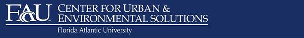 Florida Atlantic University - Center for Urban & Environmental Solutions