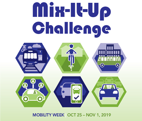 Mobility Week - Mix-It-Up Challenge