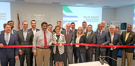 TPA Board Ribbon Cutting for the TPA offices at 301 Datura St., WPB
