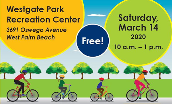 Westgate Park Bike Rodeo, March 14, 2020