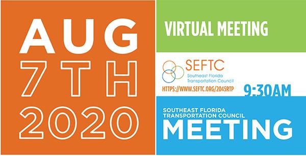 SEFTC Virtual Meeting 8/7/2020