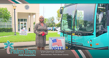 Palm Tran Offers Free Transit Rides on Election Day 11/3/2020