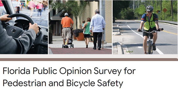 Florida Public Opinion Survey for Pedestrian and Bicycle Safety