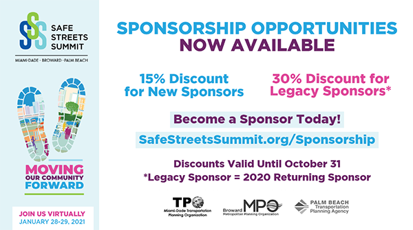 Safe Streets Summit Sponsorship Opportunities